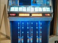Up for sale is a 1954 seeburg R jukebox it is an