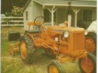 1955 Allis Chalmers Model B tractor. Mint