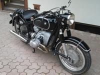This is a rare early 1955 BMW R50 in near perfect
