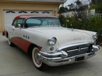 1955 Buick Special 2 door hardtop. 264 V-8 with