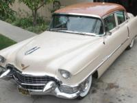 1955 Cadillac 62 4DR Sedan ..California Black Plate