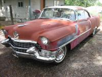 Very nice solid Rare old 1955 cadillac series 62 2dr