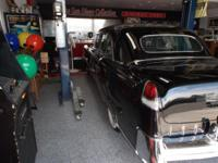 1955 Cadillac limousine 6 pack, driven all the time,