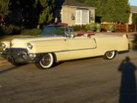 1955 CADILLAC SERIES 62 CONVERTIBLE.  -THIS CAR IS