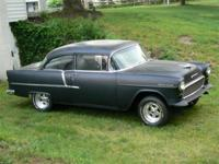 1955 Chevy 2 Door Sedan. Super solid and straight. New