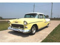 1955 Chevy Bel Air.The 55 has a 327/250HP motor with a