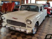 1955 Chevrolet 210 2 door sedan street rod, 383 V8