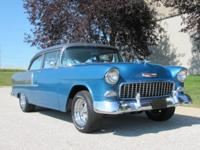 1955 Chevrolet 210 2DR Post ..Frame Off Restored