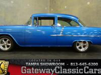 Stock #528-TPA 1955 Chevrolet 210 $78,000  Engine: 327