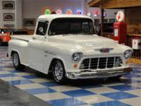 1955 Chevrolet 3100 Step-Side Custom. Powered by the