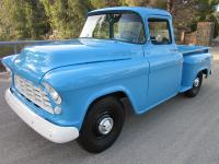 1955 Chevy 3100 Big Window Short Bed fully restored