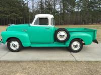 This 1955 Chevy 3100 Pickup is a true classic gem that