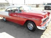 Chevrolet Bel Air. Two door hard top Red and white