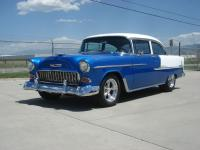 ONE BAD AZZ 55 Chevy Bel Air!!!!! New crate High