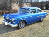 1955 Chevrolet Bel-Air  OFF FRAME RESTORED 350 CHROMED