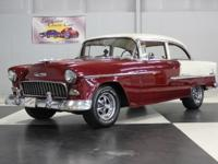 Stk#084 1955 Chevrolet Belair Painted a Burgundy and