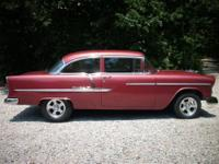 55 Belair Sedan, 355 Motor built and dyno tested by