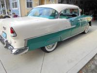 Chevy Bel Air. Original 265 V-8 2 barrel 162 H.P.