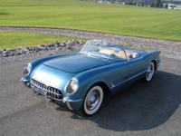 1955 Chevrolet Corvette Barn Find Pennant Blue Roadster