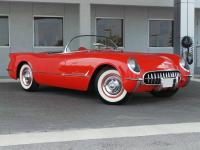 1955 Chevrolet Corvette V8 Gypsy Vinyl Convertible.