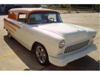 This 1955 Custom Chevy Panel Truck is one of a kind! It