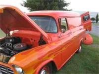 1955 Chevy Panel Truck Small Block 400, 9 in Ford