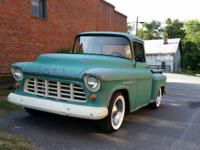 1955 Chevrolet Pickups 3100. It has new floors and is