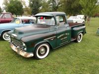 1955 Chevrolet Pickups Truck 3100 Cool Patina.  Up for