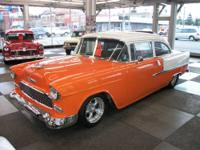 1955 Chevrolet Pro-Street, 150 with Bel Air trim,
