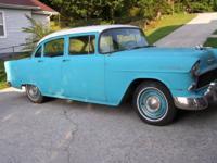 1955 Chevrolet Sedan (TN) - $10,000 4dr, RWD, Blue