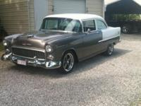 cruise ready 55 chevy , a/c ,pwr brakes, power