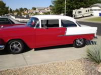 1955 Chevy, reciently restored with a rebuilt 350