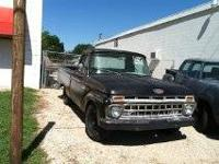 1955 Chevy 3200 Step side pickup, 235-6 Cylinder with
