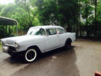 '55 Chevy 2 Door Sedan- Clear PA. title, solid body,
