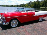 1955 Chevrolet Bel Air Convertible. This is the first
