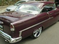 1955 Chevy Bel Air Hardtop 2-Door Coupe. 383 Stroker