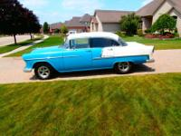 1955 Chevrolet Bel Air 4 Door in rust free, fine shape.