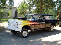 1955 Chevy Nomad Gasser (WA) - $42,500 Over 100k miles,