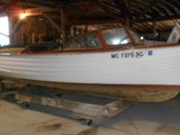 FOR SALE: 1955 CHRIS CRAFT 18' SEA SKIFF WOODEN BOAT