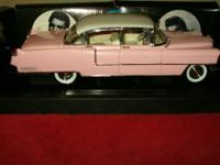 For sale is a 1955 Pink Caddy 1/18th Scale die cast, It