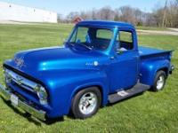 1955 Ford F-100 (IN) - $20,000 302 V-8 ford engine, C-4