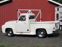 Very nice '55 Ford F100 pickup. Has an older
