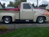 1955 ford stepside brief bed for sale. It has a 1972