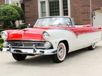 1955 Ford Fairlane Sunliner Convertible! The powerful