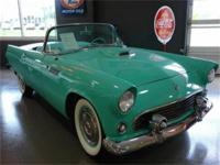 1955 FORD THUNDERBIRD CONVERTIBLE WITH A 312/V8 ENGINE,