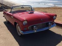 1955 Ford Thunderbird Bird Convertible.... Torch red/