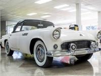 The first year of the thunderbird, 1955, brought out to