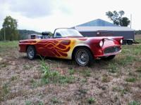 Very nice 55 Ford Tbird w/ 1986 Mustang GT HO drive
