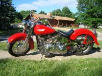 1955 Harley-Davidson FL Panhead Matching Numbers. New