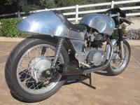The 500cc twin cylinder four stroke vertical